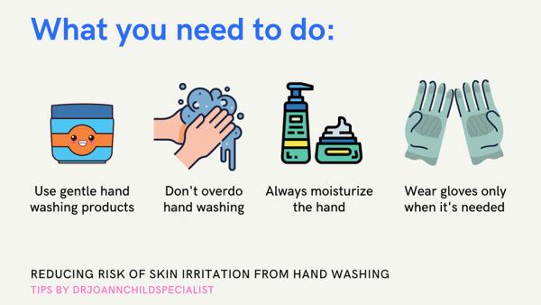 steps to prevent skin irritance